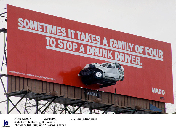 Bill Pugliano「St Paul Minnesota Anti Drunk Driving Billboard」:写真・画像(8)[壁紙.com]