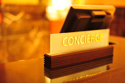 Hotel Reception「Concierge Desk」:スマホ壁紙(3)