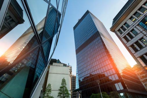 Banking「The Financial District in London」:スマホ壁紙(10)