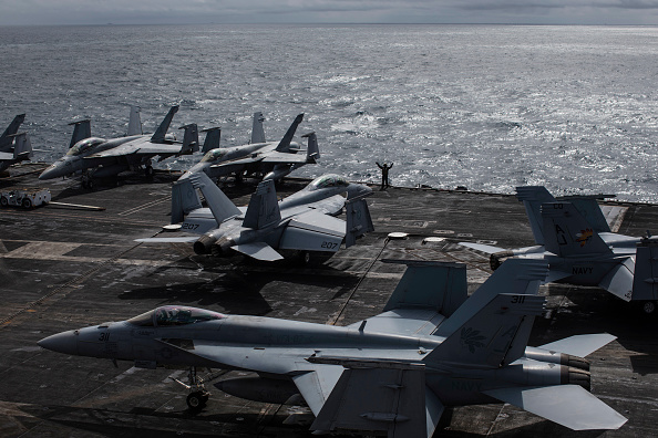 Preparation「Onboard The USS George H.W Bush - One Of The US Navy's Premier Warships」:写真・画像(17)[壁紙.com]