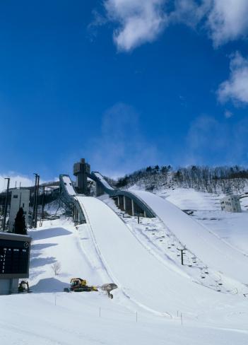スキー「Hakuba Ski Jumping Stadium, Hakuba, Nagano, Japan」:スマホ壁紙(14)
