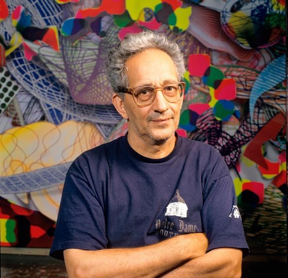 Bob Berg「Frank Stella Portrait Session」:写真・画像(4)[壁紙.com]