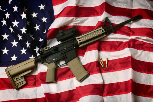 Semi-Automatic Pistol「American AR-15」:スマホ壁紙(2)