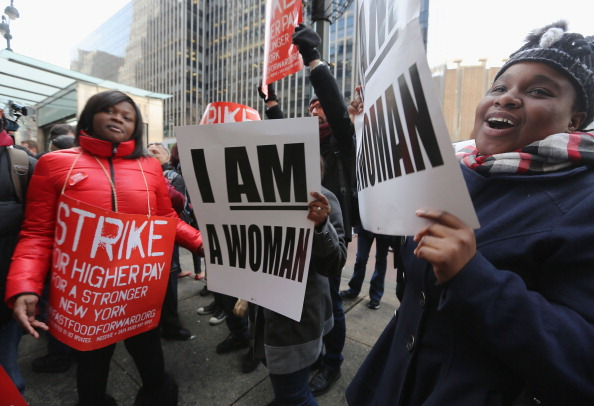Fast Food「Fast Food Workers Demonstrate For Increased Wages」:写真・画像(17)[壁紙.com]
