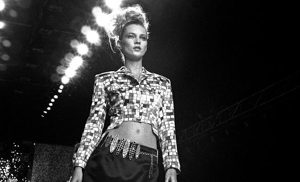 1990-1999「Kate Moss Models Todd Oldham」:写真・画像(2)[壁紙.com]