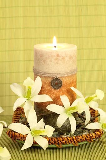 Feng Shui「Oriental Candle Serenity」:スマホ壁紙(11)