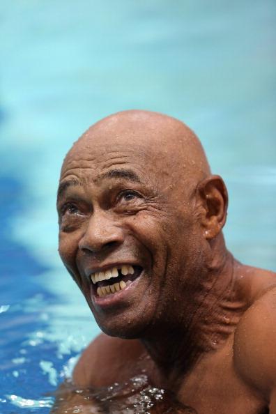 25 Meter「Elderly Vets Compete In National Veterans Golden Age Games」:写真・画像(5)[壁紙.com]