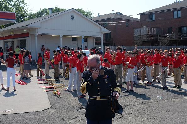 Daniel Gi「Fairfield, CT, Marks Memorial Day With Parade」:写真・画像(7)[壁紙.com]
