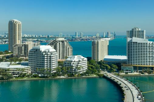 マイアミビーチ「Brickel キーおよびマイアミビーチ」:スマホ壁紙(14)