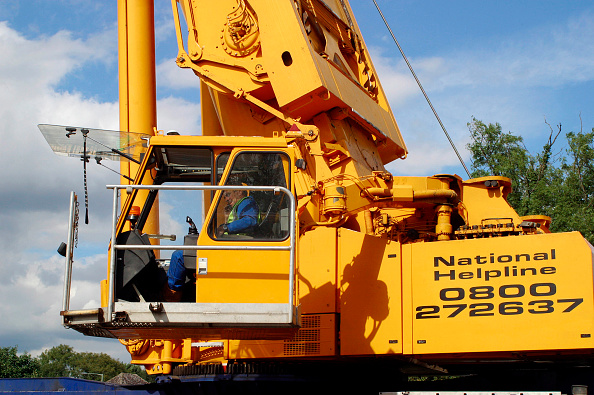 Crane - Construction Machinery「Telescopic mobile crane」:写真・画像(4)[壁紙.com]