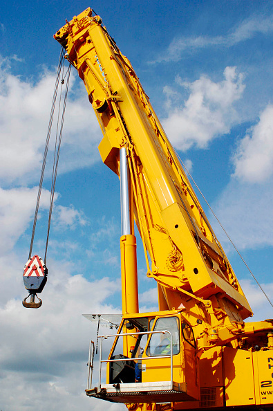 Crane - Construction Machinery「Telescopic mobile crane」:写真・画像(12)[壁紙.com]