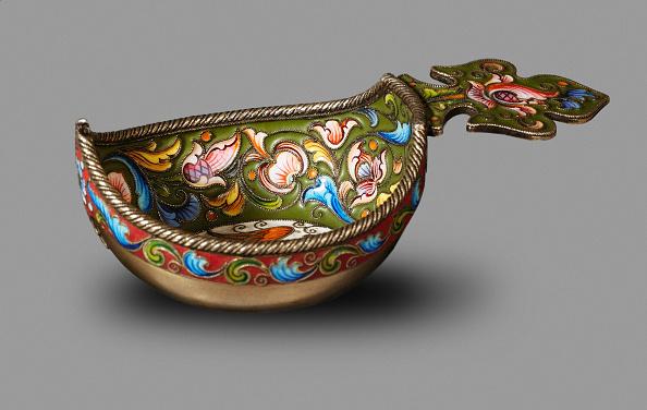 Jewelry「Kovsh (drinking vessel or ladle), Between 1899 and 1908. Artist: Rückert, Fyodor, (Fabergé manufacture) (active 1890-1917)」:写真・画像(9)[壁紙.com]