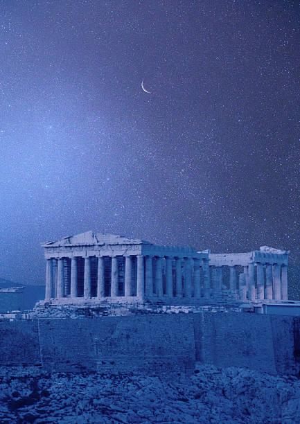 View of Parthenon:スマホ壁紙(壁紙.com)