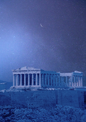 Ancient Civilization「View of Parthenon」:スマホ壁紙(6)