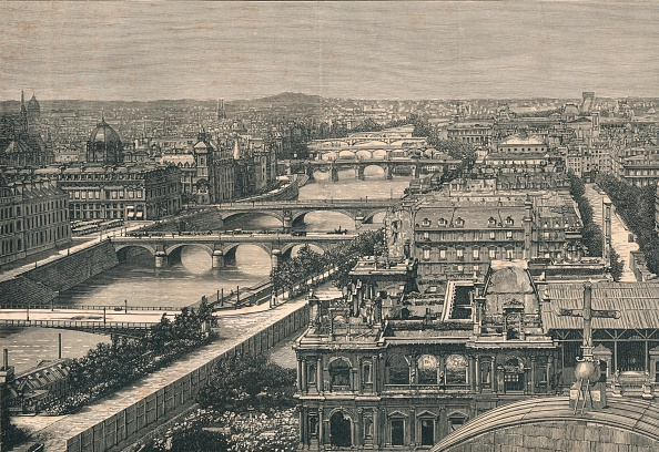 19th Century「View of Paris」:写真・画像(19)[壁紙.com]