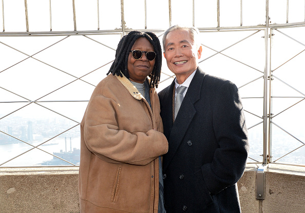 Empire State Building「Whoopi Goldberg And George Takei Light The Empire State Building In Honor Of World AIDS Day」:写真・画像(13)[壁紙.com]