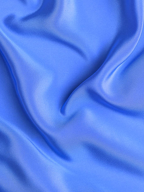 Blue silk background:スマホ壁紙(壁紙.com)