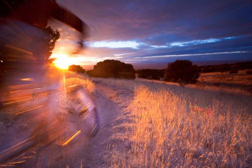 Sandia Mountains「sunshine mountain biking」:スマホ壁紙(10)