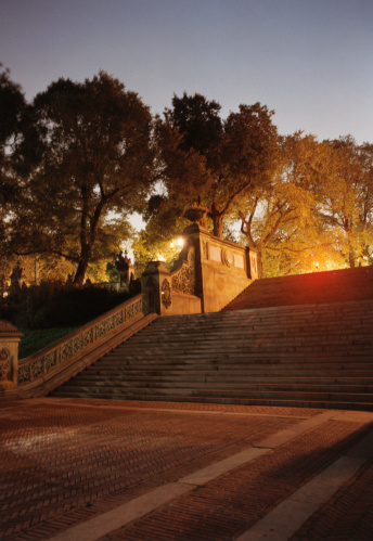 Central Park - Manhattan「Steps in Central Park」:スマホ壁紙(13)