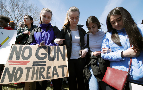 Walkout - Protest「Students Across The Country Organize Walkouts In Protest Over Gun Violence」:写真・画像(12)[壁紙.com]