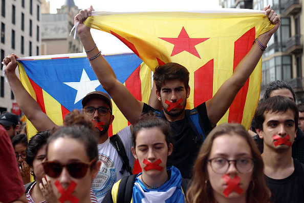 Catalonia「Aftermath Of The Catalonian Independence Referendum」:写真・画像(12)[壁紙.com]
