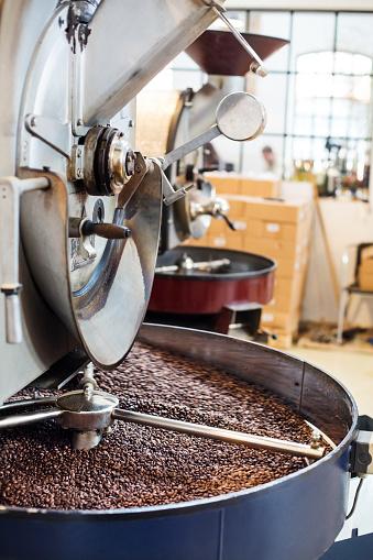 Coffee Roaster「Modern coffee bean roasting machine」:スマホ壁紙(6)