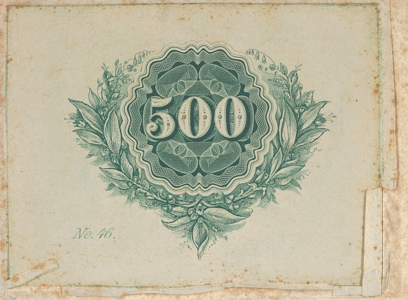 Number「Banknote Motif: Number 500 At The Center Of A Circular Design Of Lathe Work With Wa」:写真・画像(15)[壁紙.com]