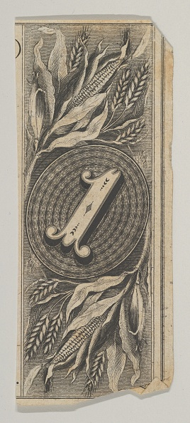 Rectangle「Banknote Motif: The Number 1 Against An Oval Of Woven Lathe Work」:写真・画像(5)[壁紙.com]