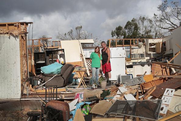 Scott Olson「Recovery Efforts Continue In Hurricane-Ravaged Florida Panhandle」:写真・画像(13)[壁紙.com]