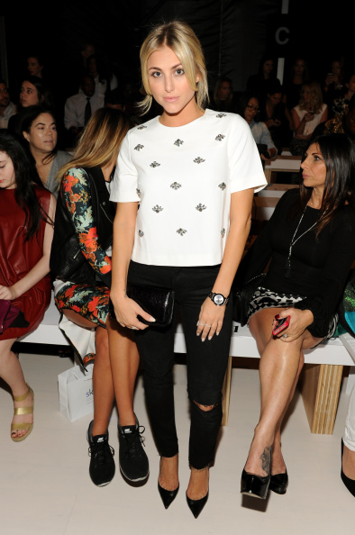 The Salon - Lincoln Center「Erin Fetherston - Front Row - Mercedes-Benz Fashion Week Spring 2015」:写真・画像(8)[壁紙.com]