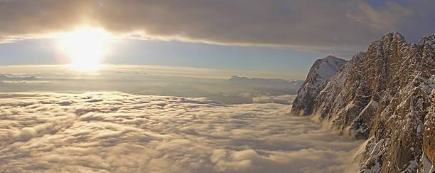 Clouds over Dachstein at Sunset:スマホ壁紙(壁紙.com)