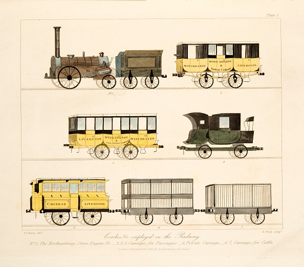 Transportation「Coaches Employed On The Railway'」:写真・画像(8)[壁紙.com]
