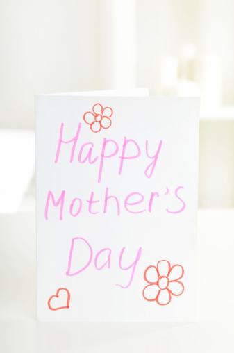 母の日「カードの幸せな母の日」:スマホ壁紙(19)