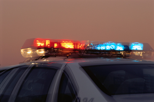 Emergency Services Occupation「Light Bar on Police Car」:スマホ壁紙(16)