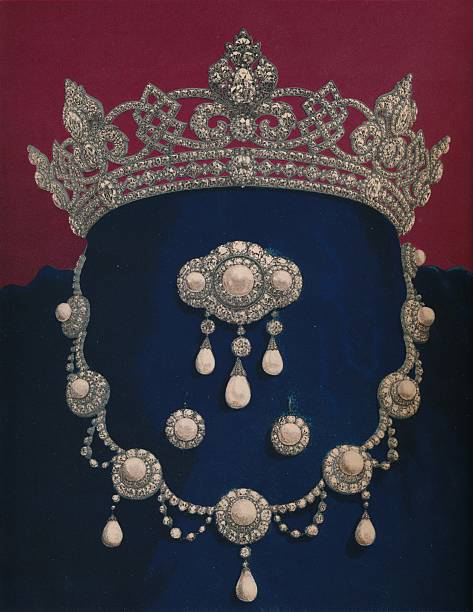 Parure Of Diamonds And Pearls - The Gift Of HRH The Prince Of Wales 1863:ニュース(壁紙.com)