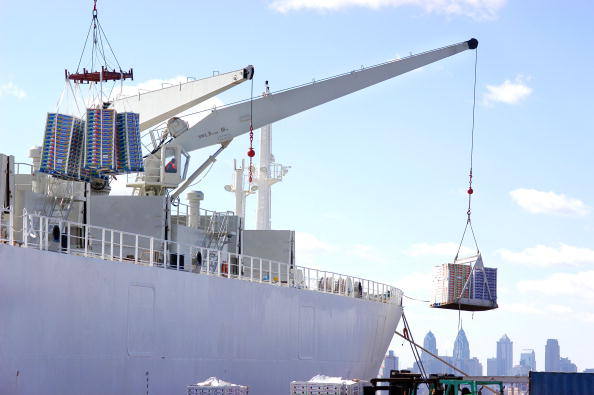 Philadelphia - Pennsylvania「Teamsters Protest Sale of U.S. Port Operations To UAE Company」:写真・画像(15)[壁紙.com]