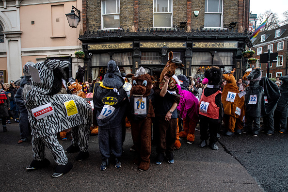 Horse「Pantomime Horses Race Around Greenwich」:写真・画像(17)[壁紙.com]