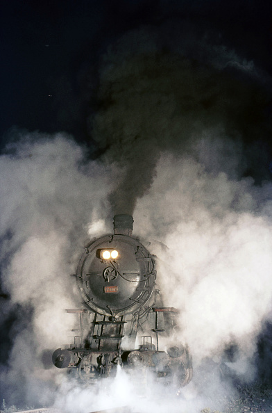 Steam「A Turkish Railway's German Built G8 2-8-0 at Eregli on the Black Sea Coast at Twilight. The engine is No.45009 and the picture dated Tuesday 3rd August 1976.」:写真・画像(19)[壁紙.com]