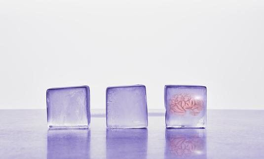 Specimen Holder「Brain frozen in ice cube」:スマホ壁紙(16)
