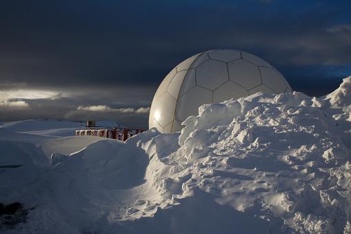 Snowdrift「Antarctic Research Station」:スマホ壁紙(13)