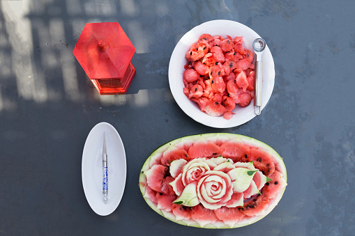 Art And Craft「Decorated watermelon」:スマホ壁紙(8)