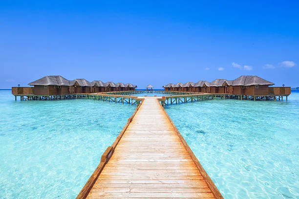 Overwater Bungalows Boardwalk:スマホ壁紙(壁紙.com)