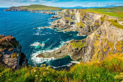 Ring of Kerry「cliffs in Ireland」:スマホ壁紙(4)
