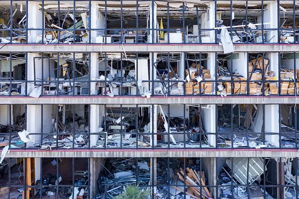 Exploding「Countless Beirut Landmarks Damaged By Port Explosion」:写真・画像(15)[壁紙.com]