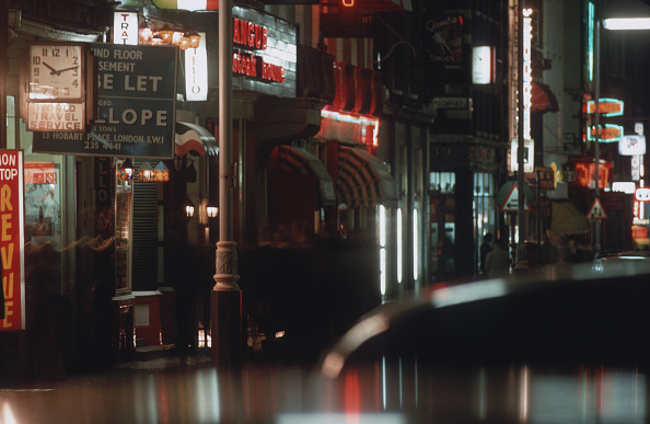 General View「Soho Streets At Night」:写真・画像(7)[壁紙.com]