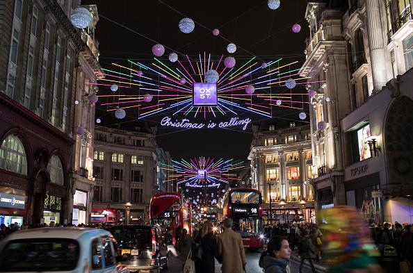 Oxford Street「Oxford Street Christmas Lights Switch On Event」:写真・画像(9)[壁紙.com]