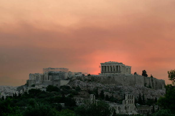 Athens - Greece「Forest Fire Breaks Near Athens」:写真・画像(3)[壁紙.com]