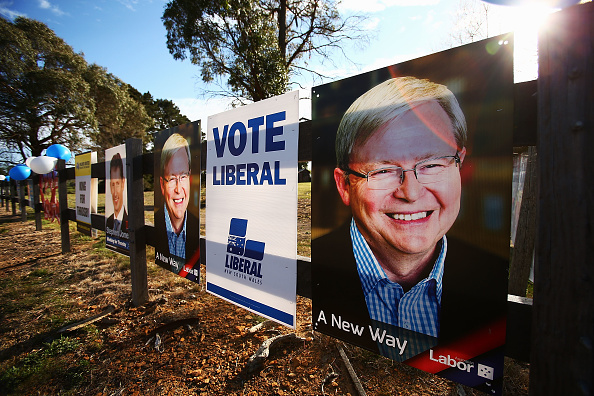 General View「Australians Head To The Polls To Vote In Federal Election」:写真・画像(0)[壁紙.com]