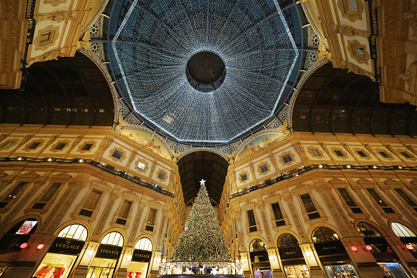 Christmas Decoration「Christmas Atmosphere In Italy」:写真・画像(5)[壁紙.com]