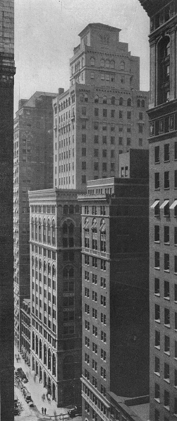 ビジネスと経済「General View Of The Johns-Manville Building, New York City, 1924」:写真・画像(5)[壁紙.com]